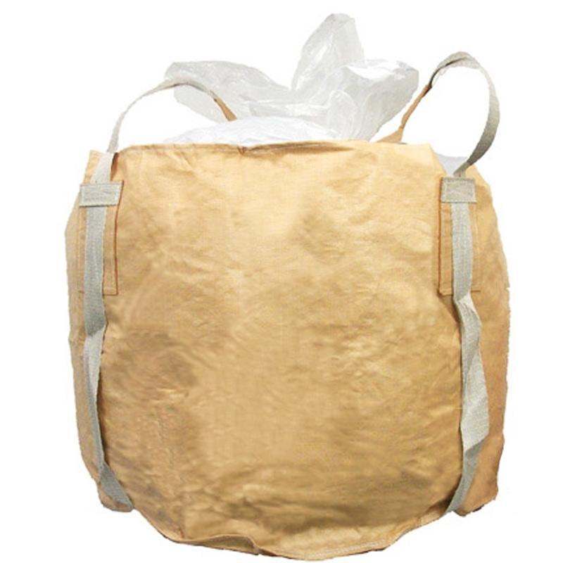 丸型 フレコンバッグ 850L 880KHR(PL) 10枚入 耐荷重1000kg 防湿 漏れ防止 工事 土木 米 麦 籾殻 もみがら 収穫 ふくなが 代引不可