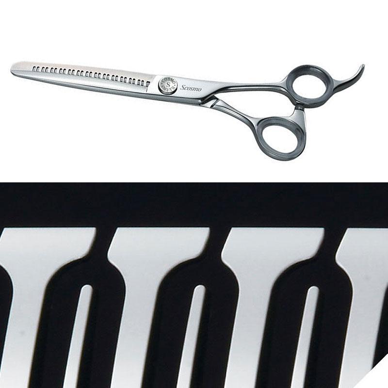 理美容 ハサミ YS R13 slender 逆刃 6インチ マスターシリーズ 90773 すきバサミ セニングシザー 美容 理容 散髪 プロ用 本格派 鋏 コスモスミス S.cosmo H