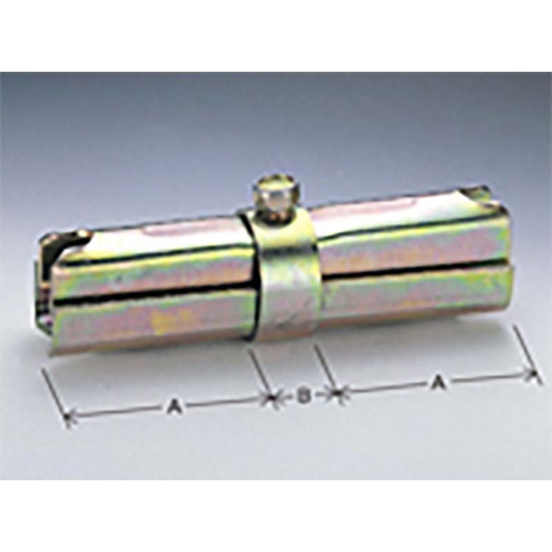 ボンジョイント 30個入 ST-25 A 80mm B 25mm 48.6 用 単管 単管パイプ に マルサ アミD