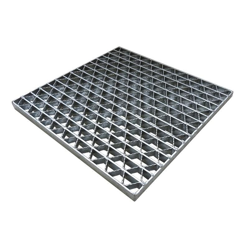 ユニバーサルデザイン グレーチング 正方形ますぶた 車道用 スチール製SS400 ます穴(幅300×長さ300) UKFC 38-33 カワグレ 受注品2〜4週間 代引不可