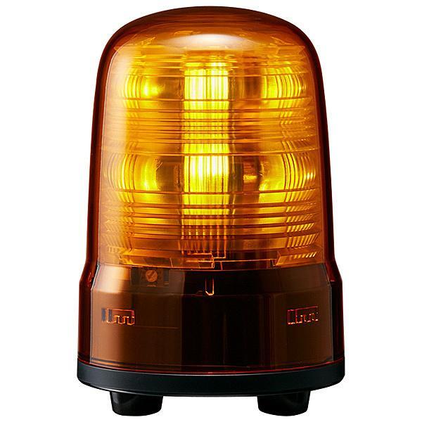 【在庫目安:お取り寄せ】 パトライト SF08-M2JN-Y 小型LED回転灯 黄 AC100·240V