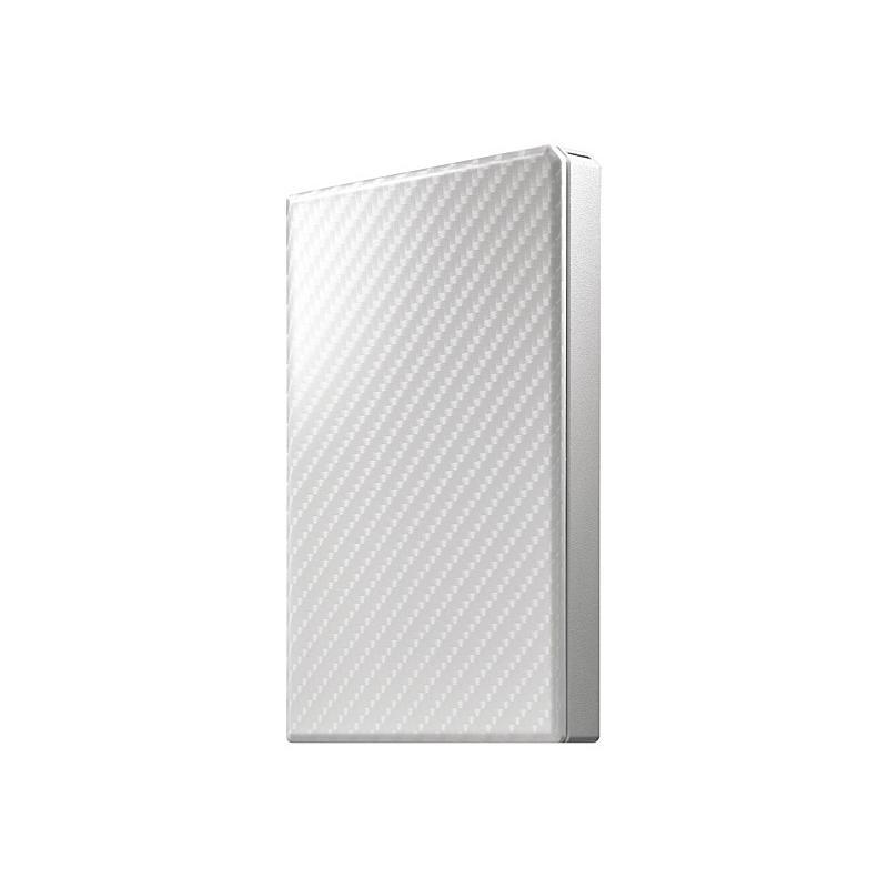 【在庫目安:僅少】 IODATA HDPT-UTS500W USB3.1 Gen1対応ポータブルハードディスク「高速カクうす」 セラミックホワイト 500GB