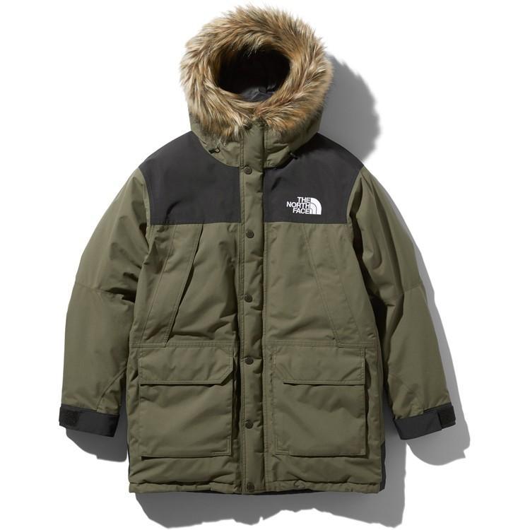 ザ・ノースフェイス マウンテンダウンコート(ユニセックス)ニュートープグリーン THE NORTH FACE Mountain Down Coat ND91935-NT