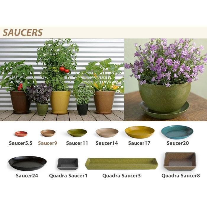 鉢皿 ecoforms(エコフォームズ) ソーサー9 Saucer 9 S9|pocchione|03