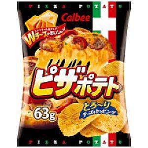 カルビー 63gピザポテト 12袋入 pocket-cvs