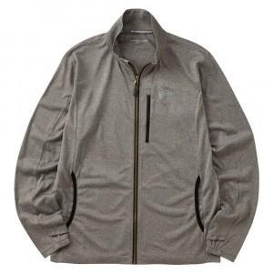 BOWBUWN ジップアップジャケット 杢グレー Y1440-4L-94
