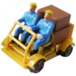 津川洋行 16番 車両シリーズ 軌道バイク 動力付 車体色:黄色 18001