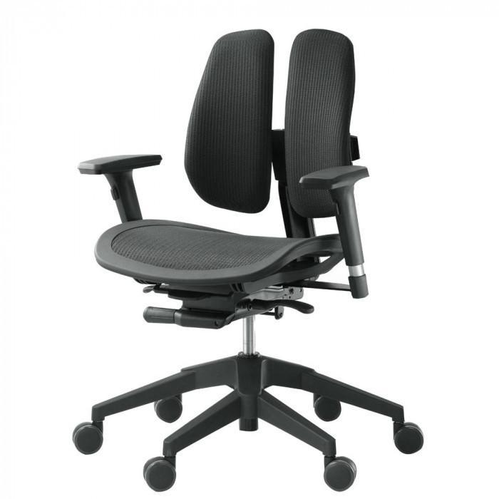 回転椅子 α60N MESH 黒
