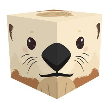 Cube Box 小 ソーダキャンディ5個入 ラッコ 10個セット CB517