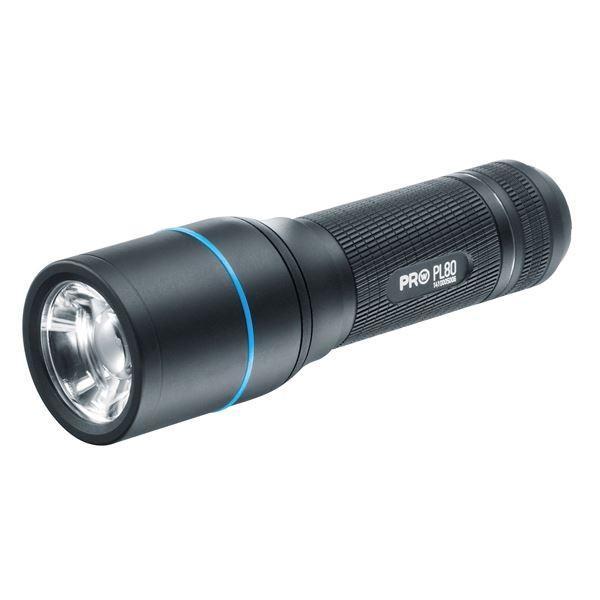 LEDフラッシュライト 懐中電灯 防水 ビーム調整システム ワルサープロPL8