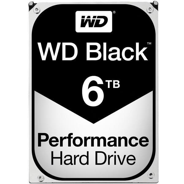 【在庫目安:お取り寄せ】 WESTERN DIGITAL 0718037-855998 WD Black 3.5インチ内蔵HDD 6TB SATA6.0Gb/ s 7200rpm 256MB WD6003FZBX
