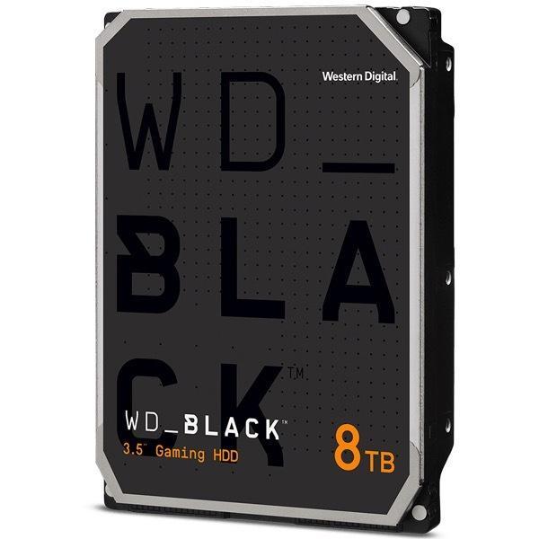 【在庫目安:お取り寄せ】 WESTERN DIGITAL 0718037-882413 WD Black 内蔵HDD ゲーミング/ クリエイティブ用 3.5インチ 8TB SATA3.0(SATA 6Gb/…
