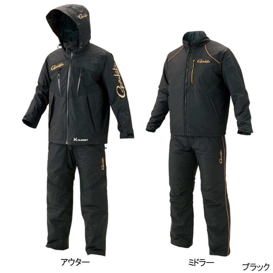 オールウェザースーツ(超耐久撥水仕様) GM-3485 LL ブラック(東日本店)