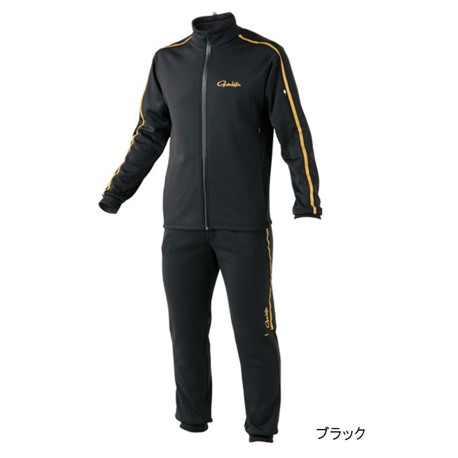 ホットメルトスムースジャージスーツ GM-3488 L ブラック(東日本店)