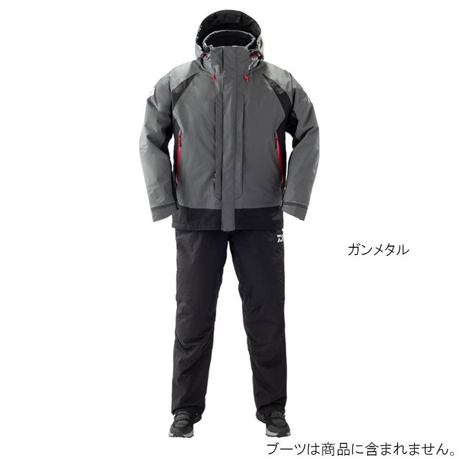 ダイワ レインマックス ハイパー コンビアップ ハイロフトウィンタースーツ DW-3409 L ガンメタル(東日本店)
