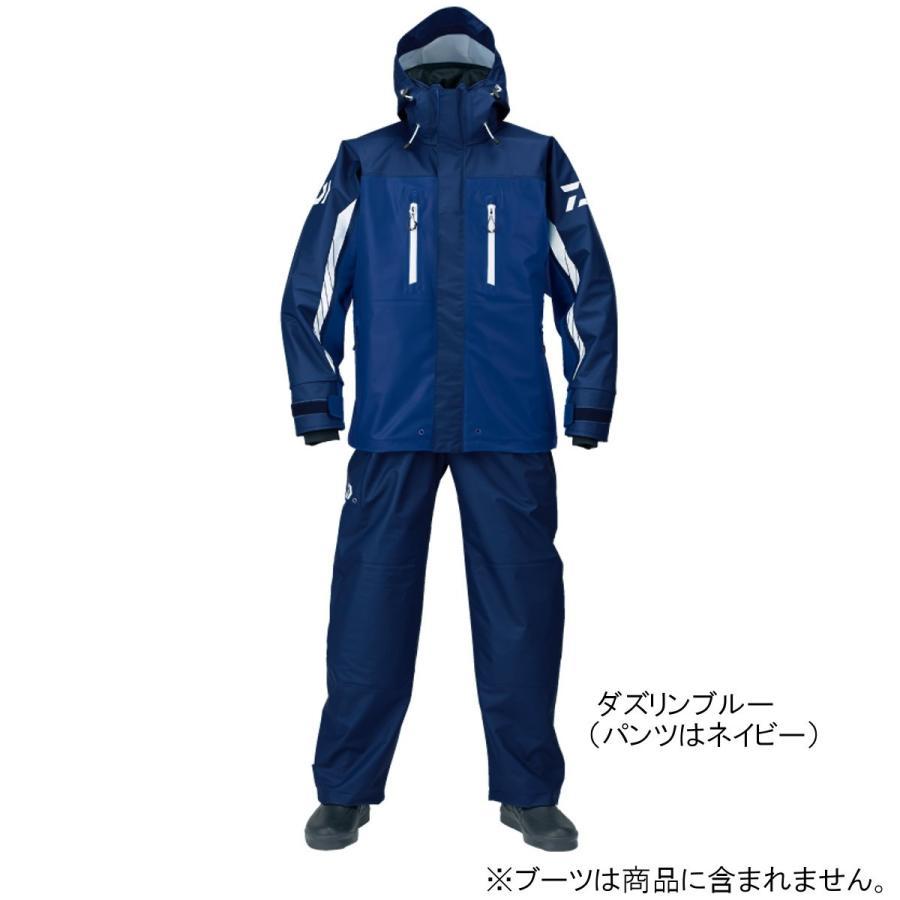 ダイワ PUオーシャンサロペットレインスーツ DR-6007 S ダズリンブルー(東日本店)
