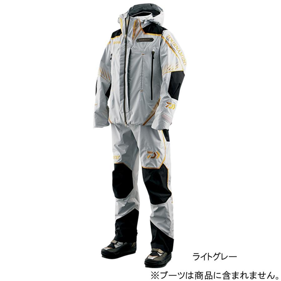 ダイワ トーナメント ゴアテックス プロダクト レインスーツ DR-1007T XL ライトグレー(東日本店)