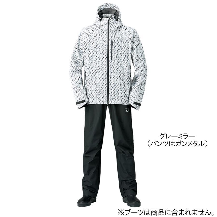 ダイワ レインマックス レインスーツ DR-33008 XL グレーミラー(東日本店)