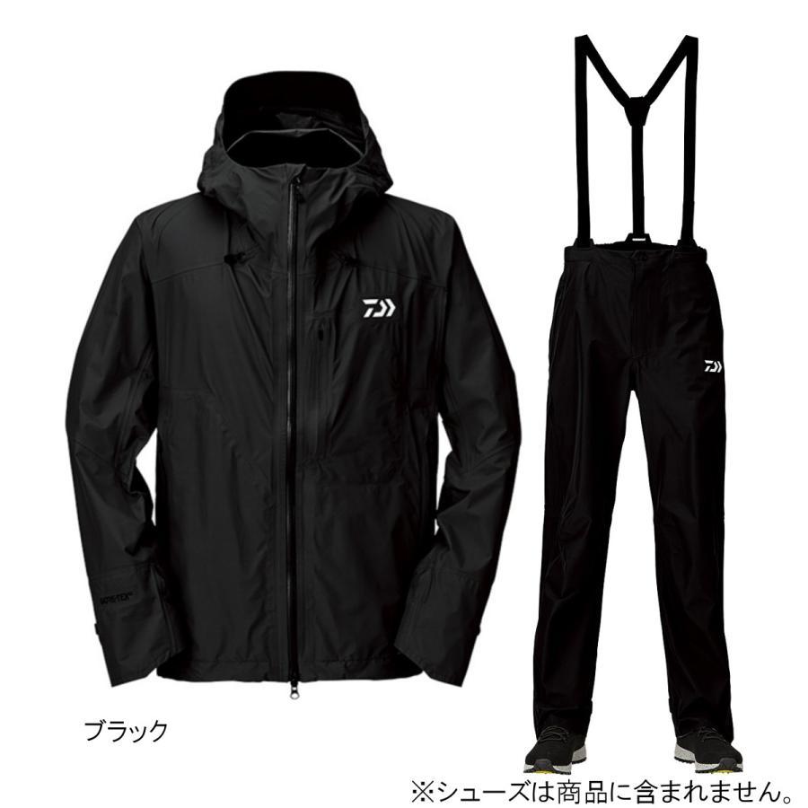 ダイワ ゴアテックス パックライトプラス レインスーツ DR-16009 4XL ブラック(東日本店)