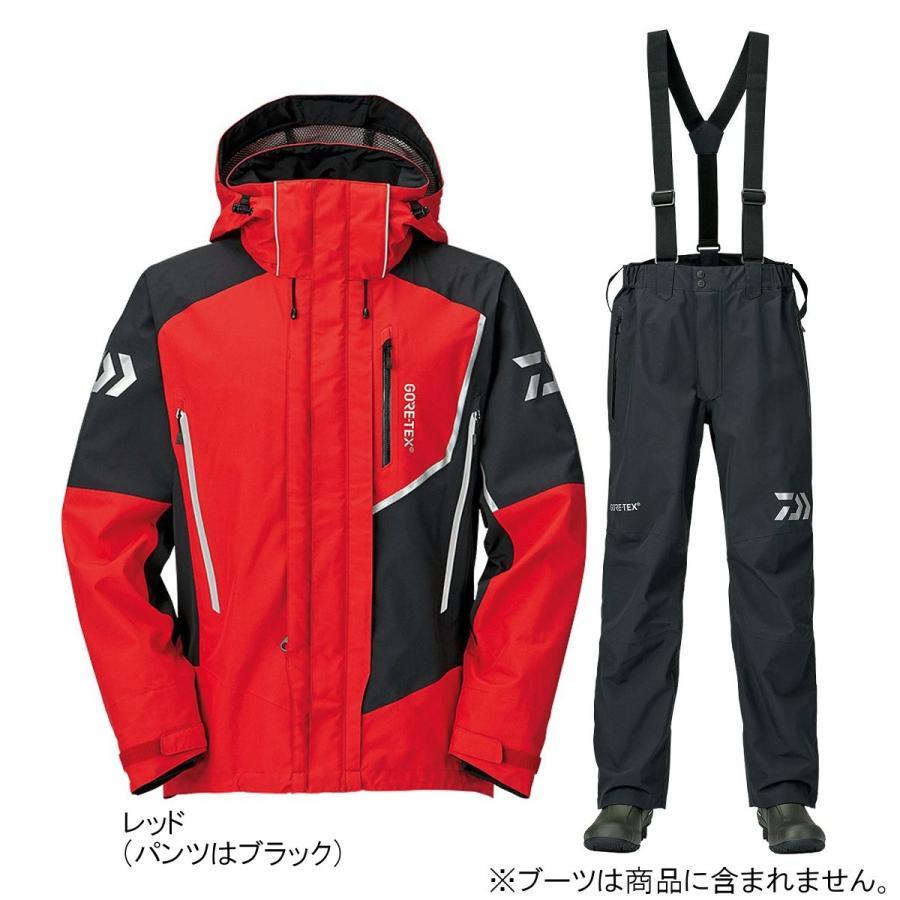 ダイワ ゴアテックス プロダクト コンビアップレインスーツ DR-18009 S レッド(東日本店)