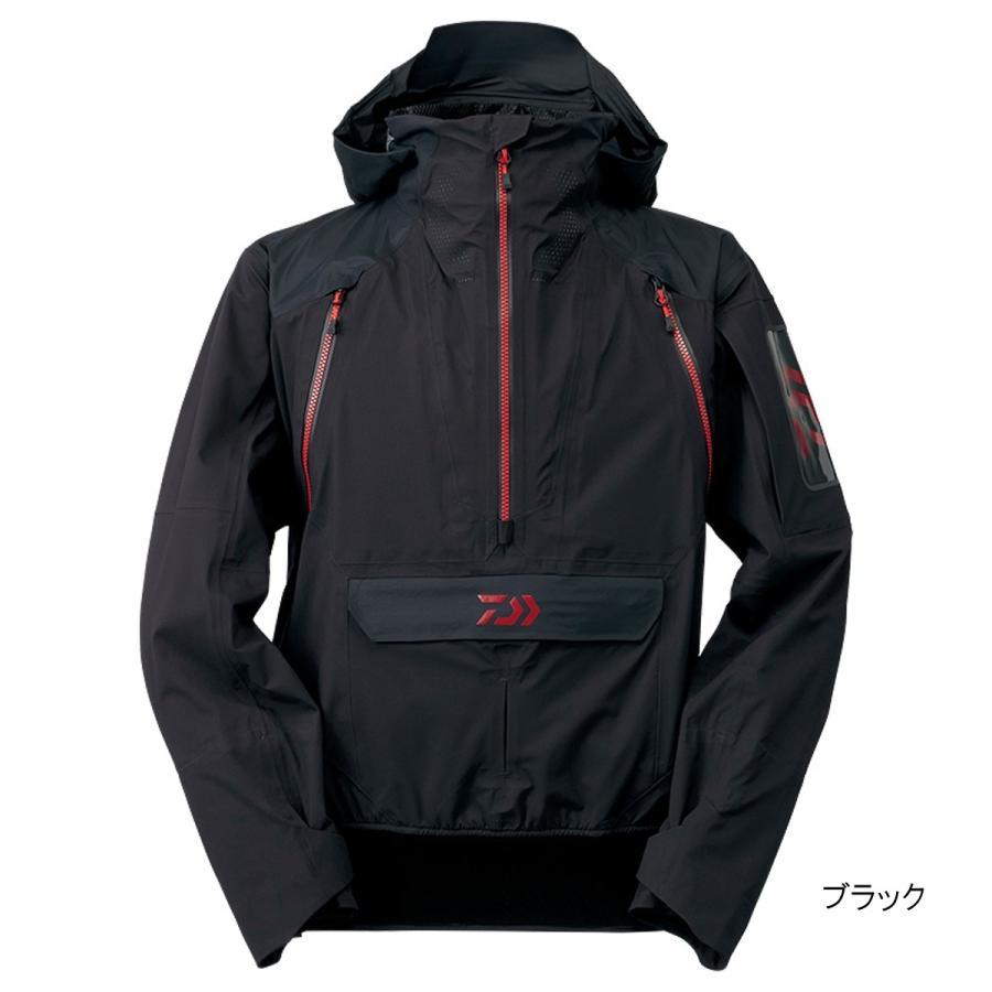 ダイワ レインマックス スモックトップ DR-23009J 3XL ブラック(東日本店)