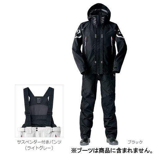 ダイワ ゴアテックス プロ ストレッチレインスーツ DR−1004 M ブラック(東日本店)