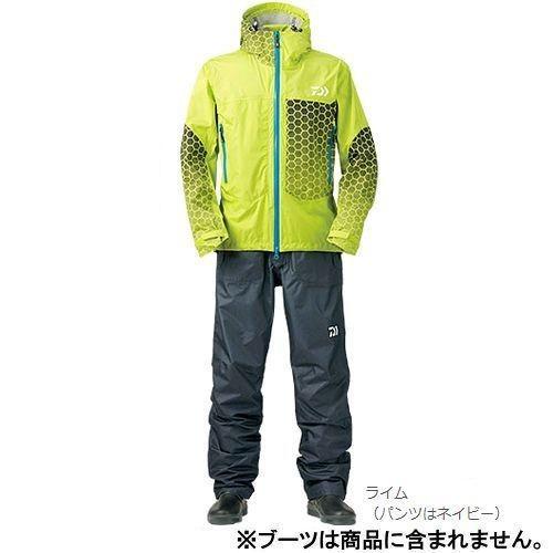 ダイワ レインマックス レインスーツ DR−3304 4XL(5L) ライム(東日本店)