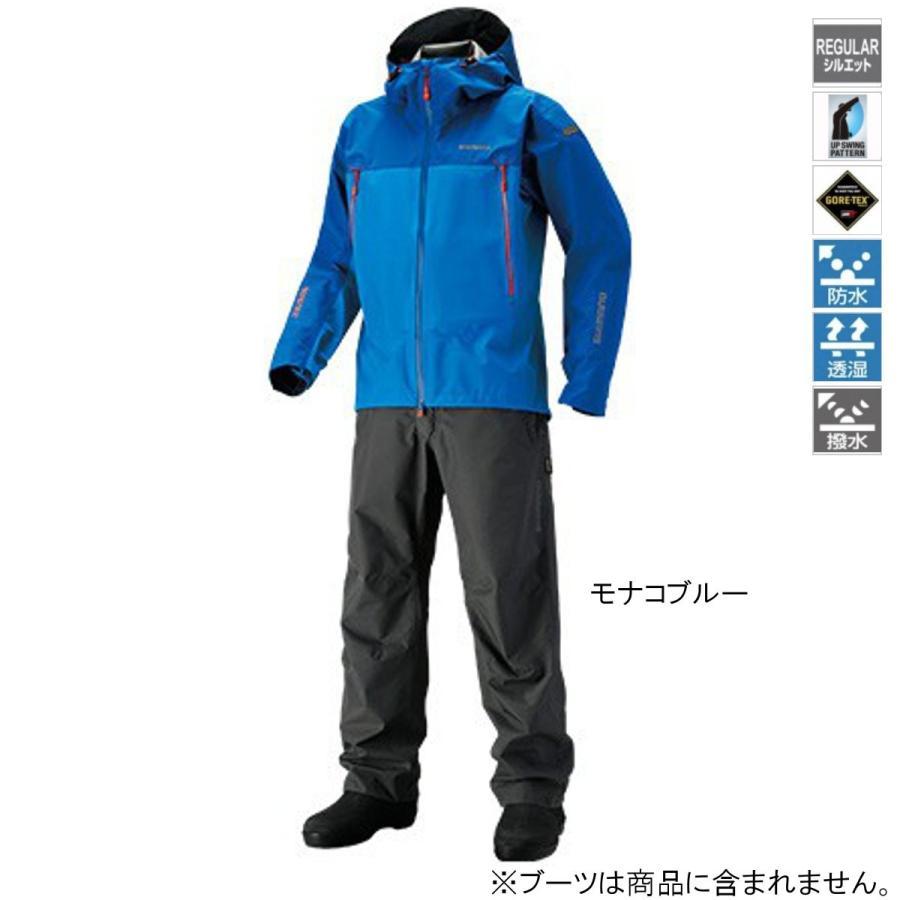 シマノ GORE-TEX ベーシックスーツ RA-017R L モナコブルー(東日本店)