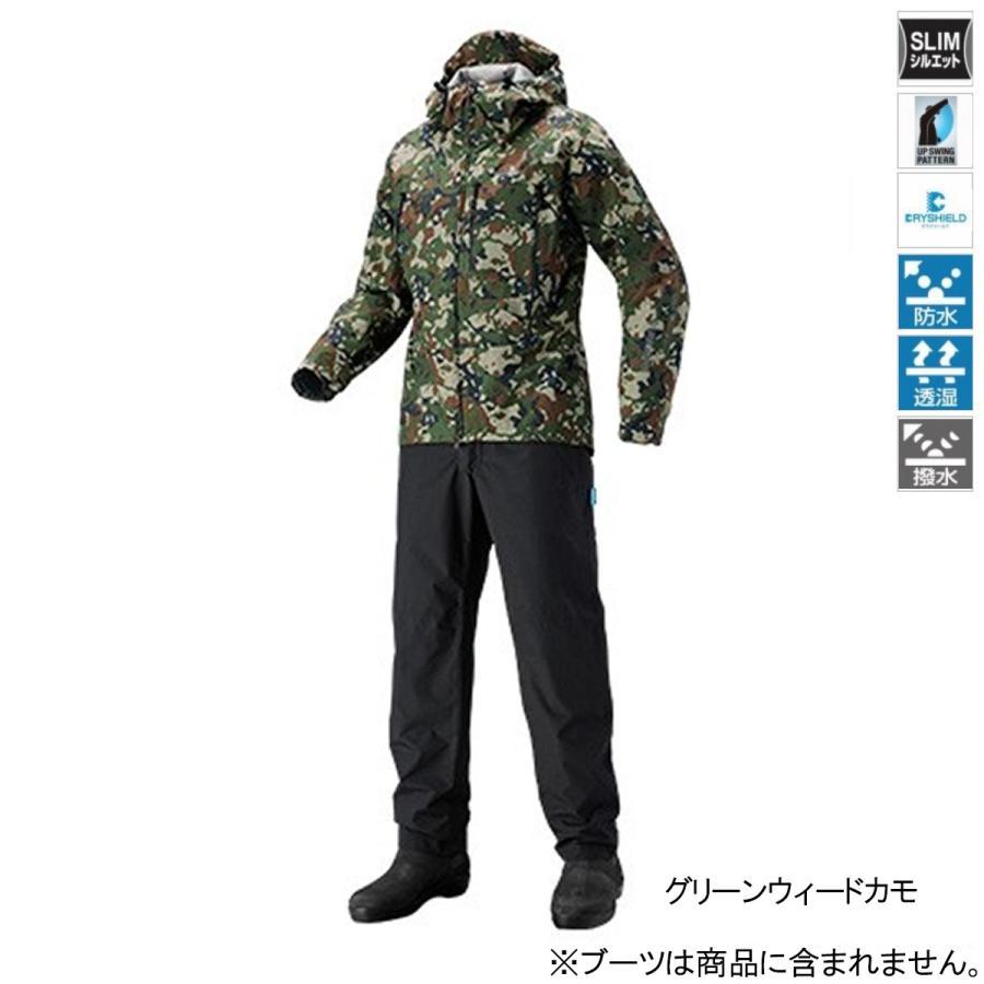 シマノ DSエクスプローラースーツ RA-024S 2XL グリーンウィードカモ(東日本店)