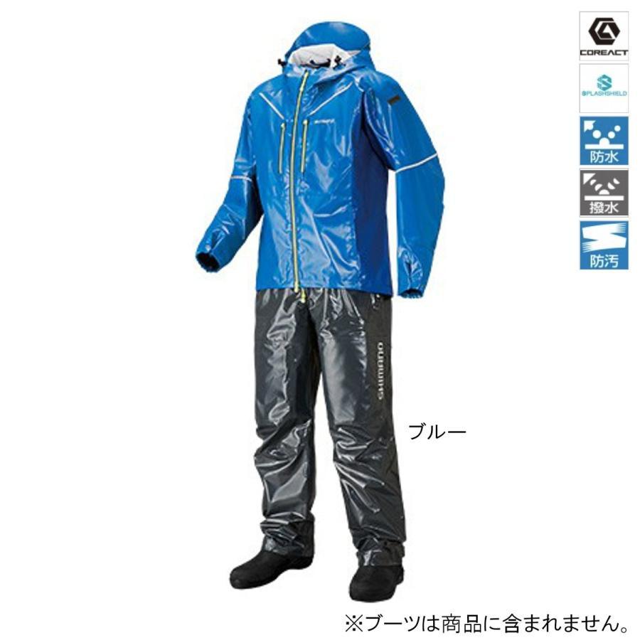 シマノ SS・3Dマリンスーツ RA-033R M ブルー(東日本店)