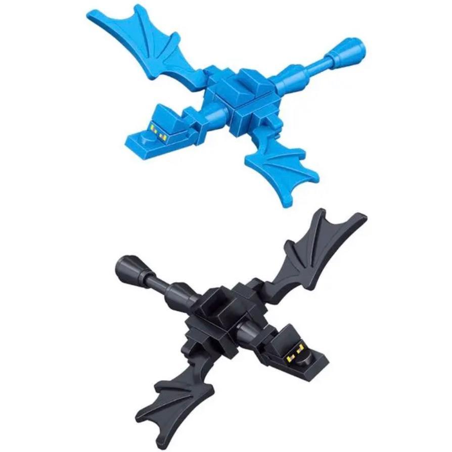 マインクラフト風 ミニフィグ16体+TNT+エンダードラゴンセット レゴ互換 ブロック LEGO マイクラ風 おもちゃ 大人気 プレゼント 説明書 ブロック外し 送料無料 poipoi 02