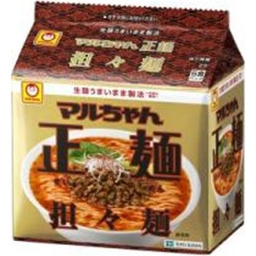 東洋水産 マルちゃん 正麺 担々麺 5食パック×6入(9月中旬頃入荷予定) poipoimarket