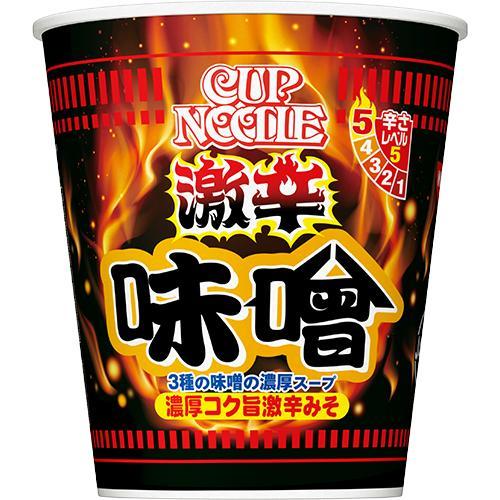 日清 カップヌードル 激辛味噌 ビッグ 12入|poipoimarket