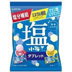 ロッテ 塩小梅タブレット 梅&レモン(袋) 48g×10入|poipoimarket