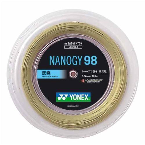 Yonex(ヨネックス) ナノジー98(200m) NBG982 コスミックゴールド