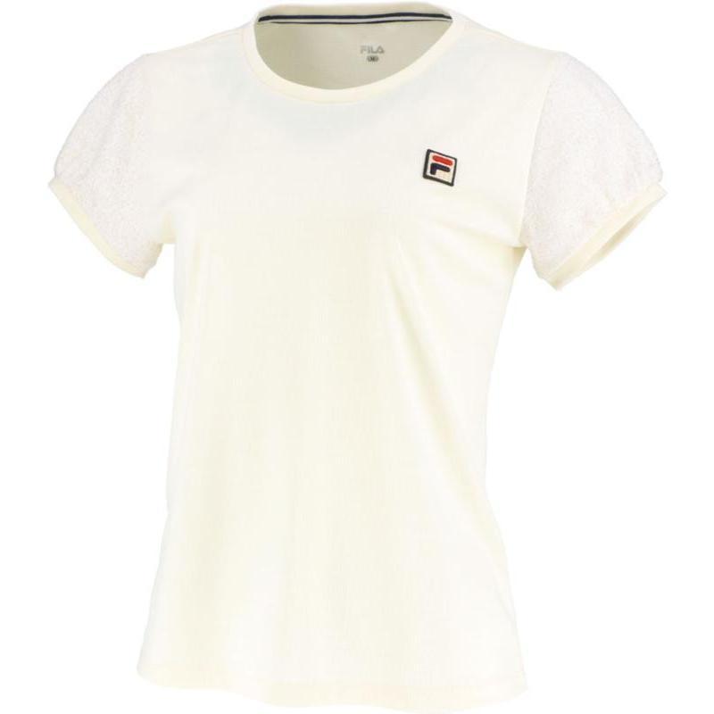 FILA(フィラ) ゲームシャツ レディース VL2018 アイボリー XL
