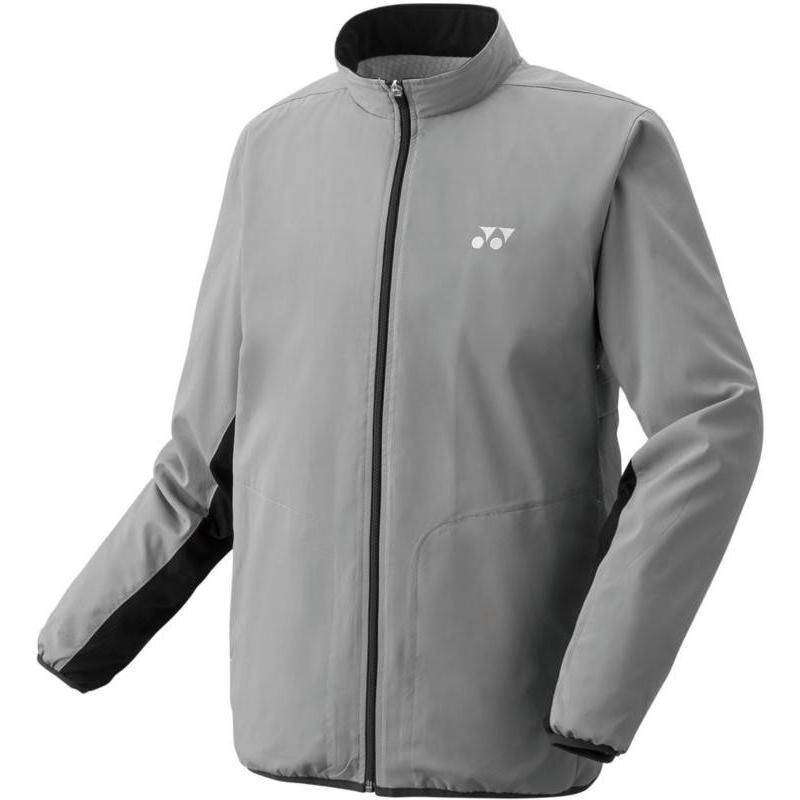 Yonex(ヨネックス) ユニセックス 裏地付ウィンドウォーマーシャツ(フィットスタイル) 70059 グレー L
