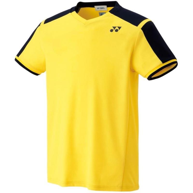 Yonex(ヨネックス) ユニセックス ゲームシャツ(フィットスタイル) 10271 ライトイエロー SS