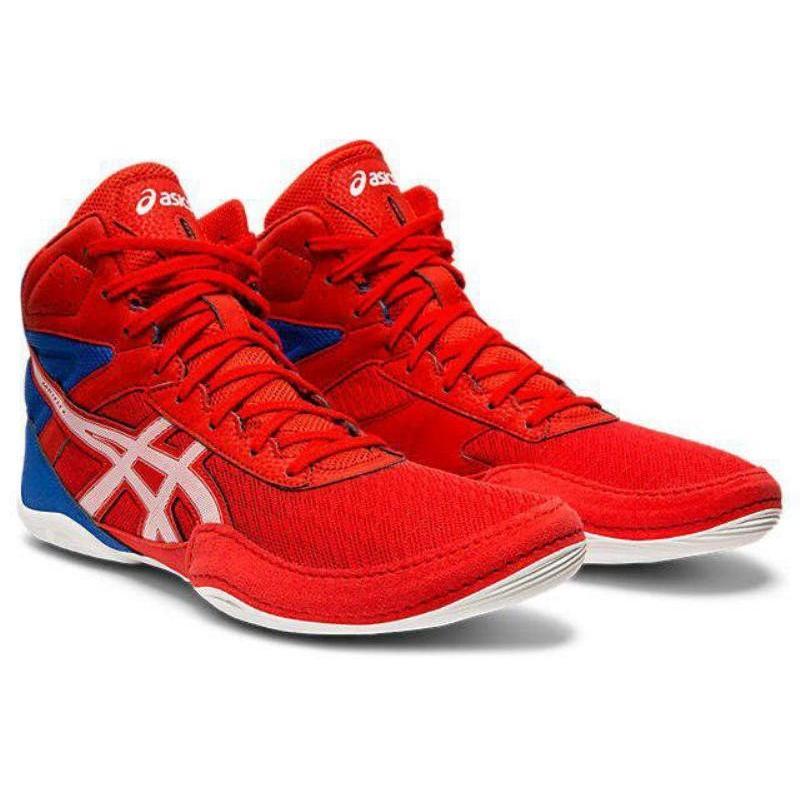 アシックス(ASICS) レスリング MATFLEX 6 1081A021 CLASSIC 赤/白い 27.5cm