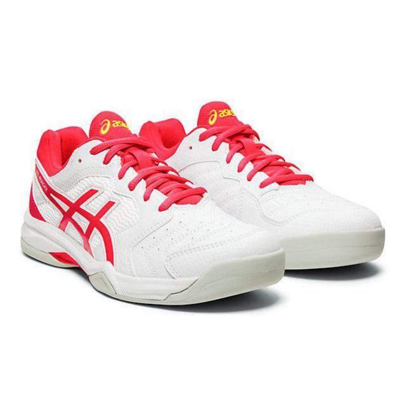 アシックス(ASICS) テニス GEL-DEDICATE 6 INDOOR 1042A074 ホワイト/レーザーピンク 26.0cm