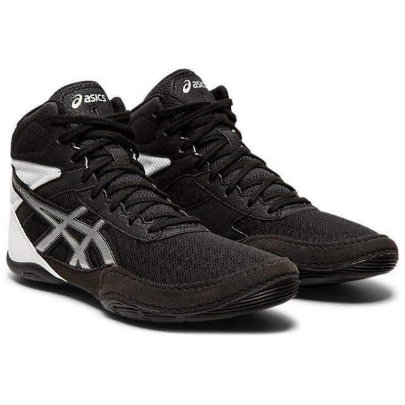 アシックス(ASICS) レスリング MATFLEX 6 GS 1084A007 ブラック/シルバー 22.5cm
