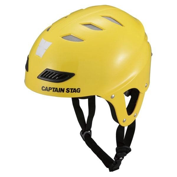 CAPTAIN STAG(キャプテンスタッグ) CS スポーツヘルメットEX キッズ イエロー US3207