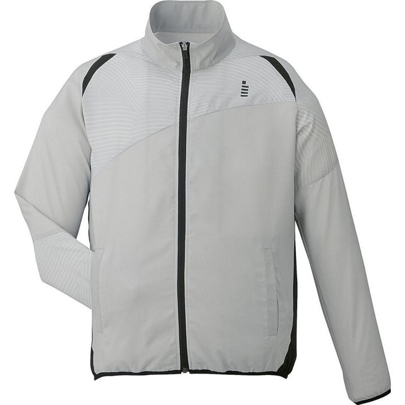 GOSEN(ゴーセン) 【男女兼用 テニスウェア】 ユニセックス ライトウインドジャケット Y1700 ライトグレー LL