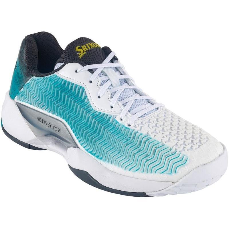 SRIXON(スリクソン) スリクソン テニスシューズ アクティベクター オムニ&クレーコート用 ホワイト×ブルー SRS1013WB 24.0cm