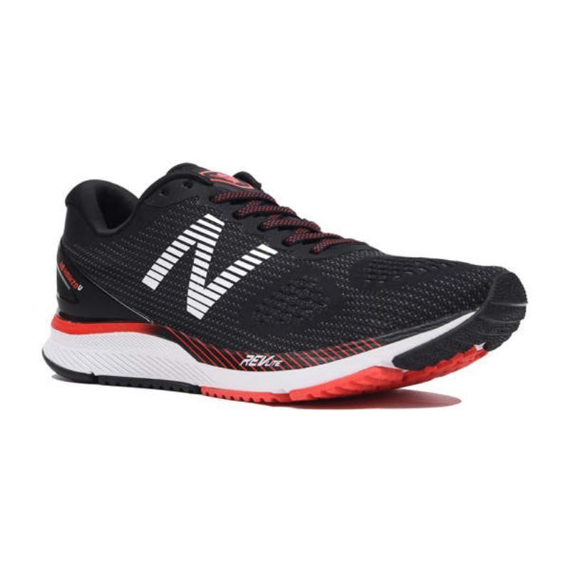 ニューバランス(New Balance) RUNNING NB HANZO MHANZUB2 MHANZUB22E B2(黒/赤) 29.0cm