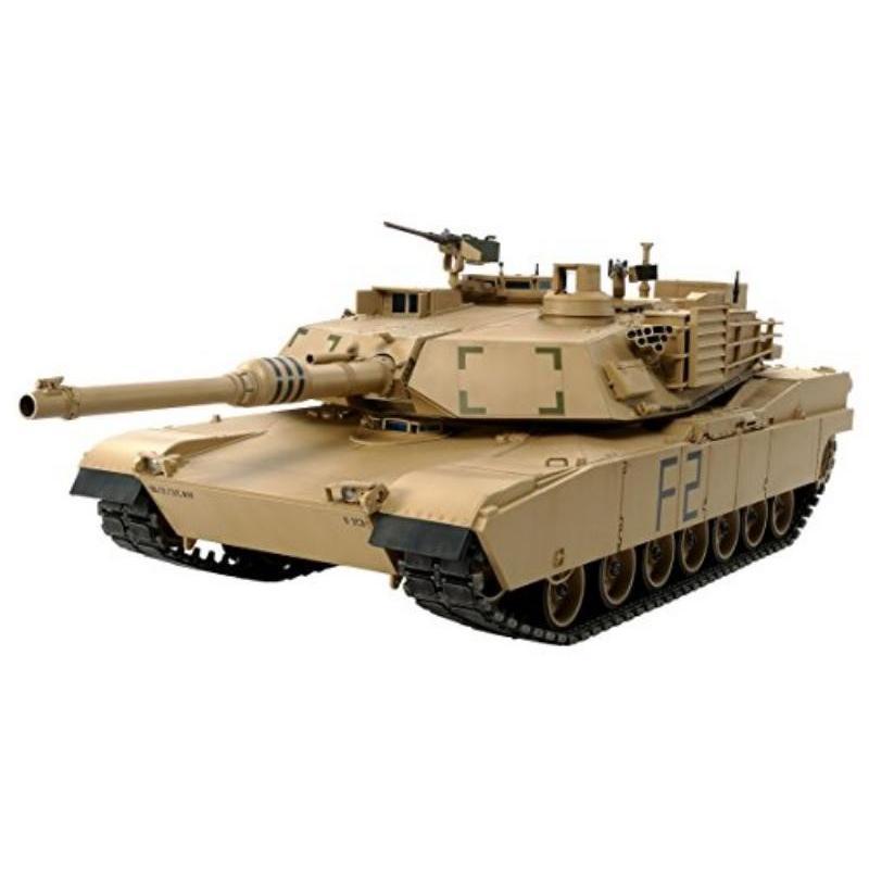 タミヤ(TAMIYA) 1/16 ビッグタンクシリーズ No.12 アメリカ軍 M1A2 エイブラムス戦車 ディスプレイモデル プラモデル 36212
