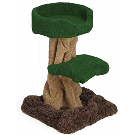Mushroom Tree with Tub : Color - Top/Leaves DARK GREEN : Size 30 INCH : Col