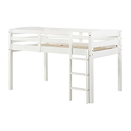 Concord Junior Loft Bed, Twin, White