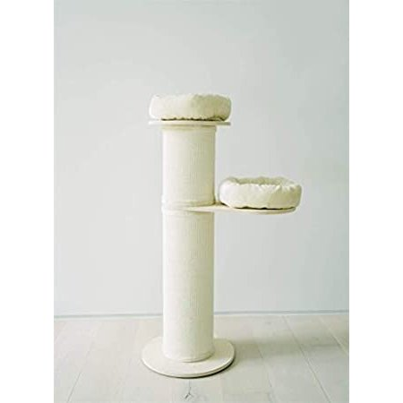 """PAWMONA 54"""" Natural Luxury Large Cat Tree Post 