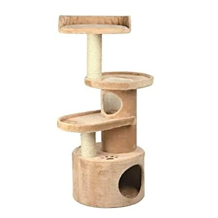 """Mix.Home Scratching Post for Cats, 17.5"""" L X 17.5"""" W X 41.25"""" H. Best Choic"""